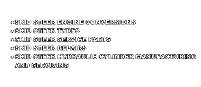 SKID STEER ENGINE CONVERSIONS 